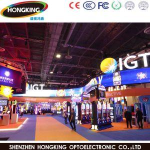 Nuevo diseño curvo P3.91 Interior LED de alquiler de pantalla de publicidad