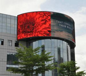 Économies d'énergie P6 plein écran LED de couleur stade Rideau