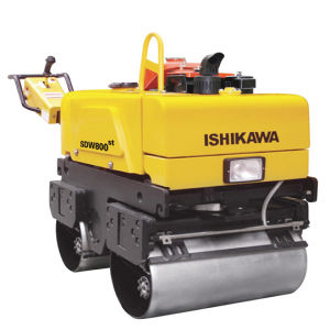 Dieselmotor-einzelne Trommel-Handvibrationsstrecke-Rolle