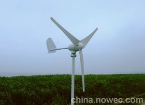 Pequeño aerogenerador con alto poder