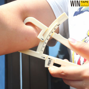 Il compasso di misura di nastro del corpo e del test per materie grasse del corpo ha impostato per forma fisica
