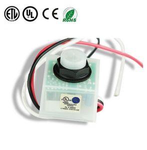 Ce RoHS cable de control de iluminación de fotocélulas remoto Interruptor fotoeléctrico