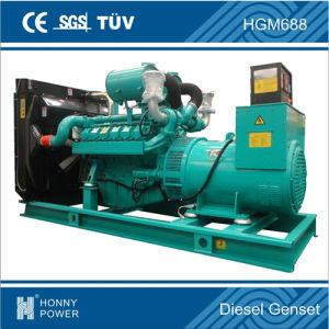 560kw/ 700KVA Diesel Generator avec auvent silencieux