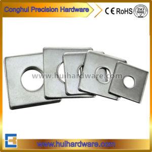 En acier inoxydable 304 316 plat fendu de rondelles carrées