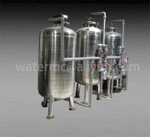 Фильтр с активированным углем Aps/кварцевый песок фильтр/Мультимедийные фильтр для очистки воды