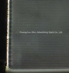 Het Maagdelijke Materiële Mitsubishi Acryl van 100% Blad van de leiden- Verlichting