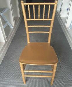 Weddings를 위한 PP Monobloc Gold Chiavari Chair