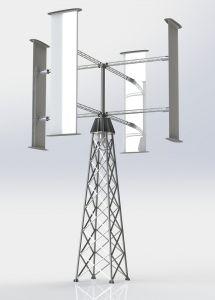60kw Vertical Axis Wind Generator
