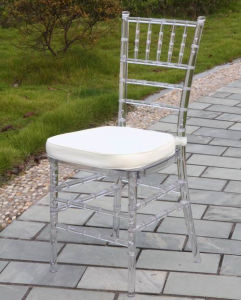 Wedding를 위한 명확한 PC Materail Resin Tiffany Chair