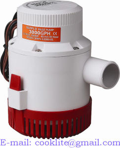 Pompe De Cale Electrique/Pompe Submersible De Dränage - Gph3000 12V/24V