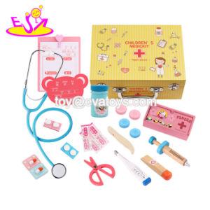 Auxilios Kit W10d158 Niños Madera Calientes Medicina Doctor Nuevo Primeros Con Juego De Para Más Juguetes La v80OnmwNPy