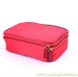 熱い販売の高容量の構成の二重ジッパーが付いている装飾的な記憶袋