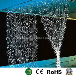 Светодиодный индикатор рождественские украшения лампа шторки