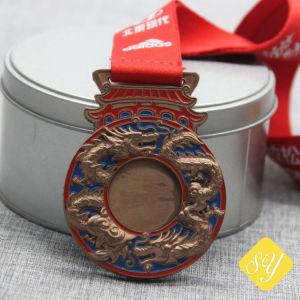 Gute Qualitätsarmee-Großhandelspolizei Taekwondo Sports Decklack-Karnevals-Fiesta-Medaille
