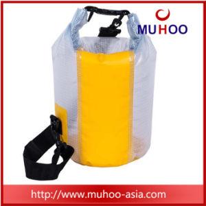 Deportes impermeable de PVC azul bolsa seca para navegar