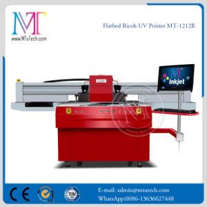 Stampante di getto di inchiostro UV dei cursori di Ricoh Gen5 del metallo doppio della testina di stampa Mt-1212r