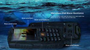 Versión barata resistente al agua caliente teléfono móvil a prueba de polvo a prueba de caídas