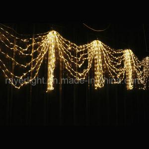 屋外のクリスマスの装飾LEDのカーテンストリングライト