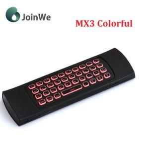 Mx3 de Kleurrijke Backlit Radio van de Muis van de Lucht van het Toetsenbord en van de Muis