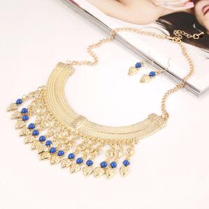 Collana Pendant dei monili di figura della moneta di oro, collana della perla di modo