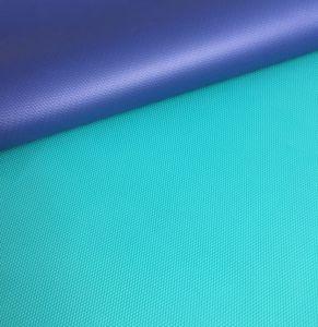 Antideslizante de doble capa de PVC ecológica TPE EVA estera del yoga