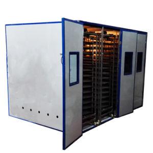 Сталь автоматический инкубатор для куриных яиц 25000 запасные части большого потенциала
