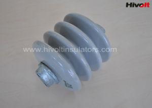 Изоляторы столба станции фарфора для передачи и подстанции