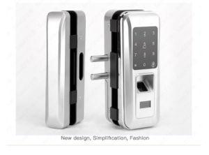 Serratura di portello di vetro elettrica di parola d'accesso dell'impronta digitale di obbligazione biometrica per il portello dell'ufficio
