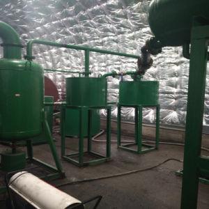 Los residuos de equipos de reciclaje de aceite del motor de la máquina de extracción de aceite negro