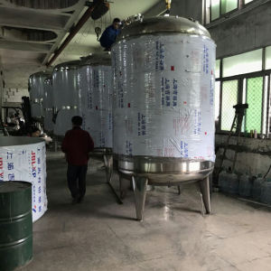 304 316 Prix cuve de mélange de produits chimiques en acier inoxydable
