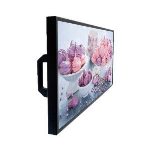 De Muur van 28.6 Duim zet Digitale Uitgerekte LCD van de Staaf Vertoning voor de Reclame van Vertoning op