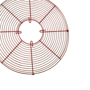 Griglia industriale assiale del ventilatore del collegare saldata bicromato di potassio del PVC