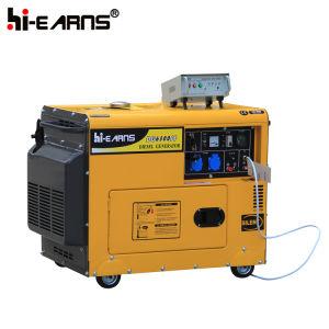 Modelo silenciosa gerador diesel de 5 kw (DG6500SE)