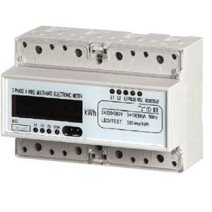 Электронные три этапа в эксплуатацию электронного ваттметра DIN измеритель мощности беспроводной связи