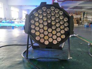 Icono 54*3W LED de color RGBW Quad par 64 de la luz de lavado