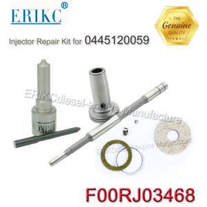 F00rj03468 Bosch注入器0445120059 CumminsのためのディーゼルInjetorの修理用キットF 00r J03 468の燃料ノズルDsla128p1510の分解検査キット