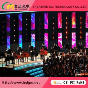 Intérieur/Extérieur Courbe pleine couleur (P3.91, P4.81) Afficheur à LED de location pour la publicité l'écran (500*500mm/500mm*1000mm Cabinet)