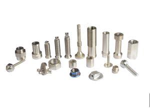 Fabrication sur mesure Service Fraisage CNC aluminium anodisé tournant CNC Usinage de pièces