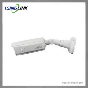 De weerbestendige OpenluchtIP van het Toezicht van kabeltelevisie van HD IRL Camera van de Kogel (2 lampen)