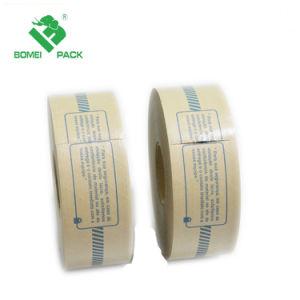 Reforzado engomado cinta de papel Kraft, para el sellado y embalaje