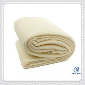 Protecções de lã natural para retalhos, casaco
