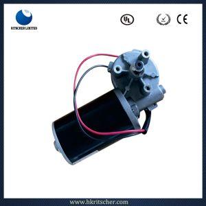 3.5N 12/24 V 50W. M 80tr/min DC électrique à couple élevé du moteur à engrenages à vis sans fin pour le stationnement barrière/fauteuil roulant