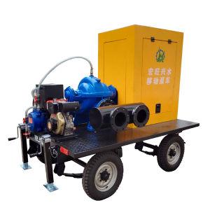 Hohe Kapazitäts-axiales Riss-Fall-Wasser-doppelte Saugpumpe