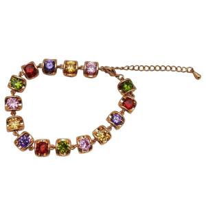 71e6db45e6ee Nuevo diseño de joyería en plata de la piedra de color para mujer Pulsera  Joyería