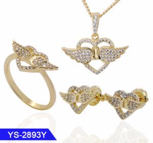 人工的な方法銀の宝石類は緑ガラスとのオンラインショッピングをセットする