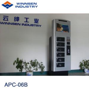 Winnsen Licht-Ladung des 19 Zoll-Touch Screen LCD-Handy-Ladestation-Verkaufäutomat-LED