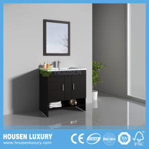 Neue moderne Fußboden-Stehende Lack-amerikanische Badezimmer-Eitelkeit HS-T11012-800