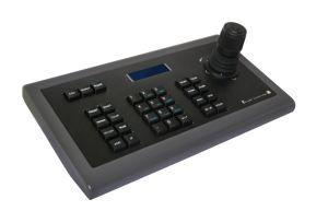 RS485 het Controlemechanisme van het Toetsenbord van kabeltelevisie van het toezicht met Digitale LCD Vertoning en 3D Bedieningshendel