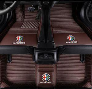 BMW E46 /M3 /M4/M6/E30/G30/F30/F10 2000-2006 권리 /Left 손 운전사 차를 위한 우수한 다이아몬드 XPE 5D 차 지면 매트