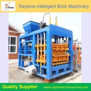 O Qt6-15 Hydrautic Espalhadoras Intertravamento Lancis de máquina para fazer blocos ocos